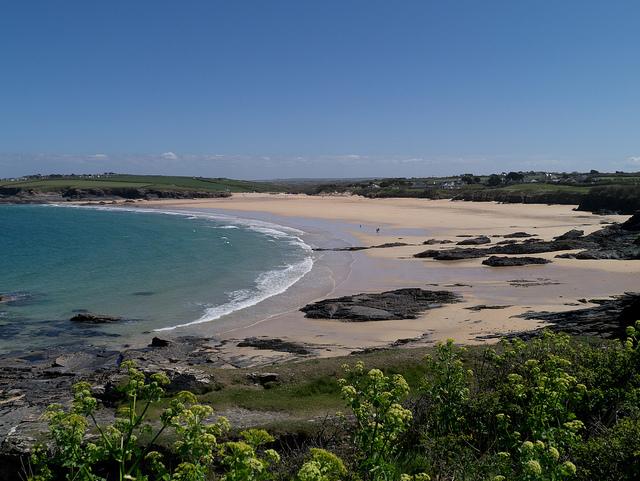 Harlyn Bay Beach - One of the best beaches in Cornwall