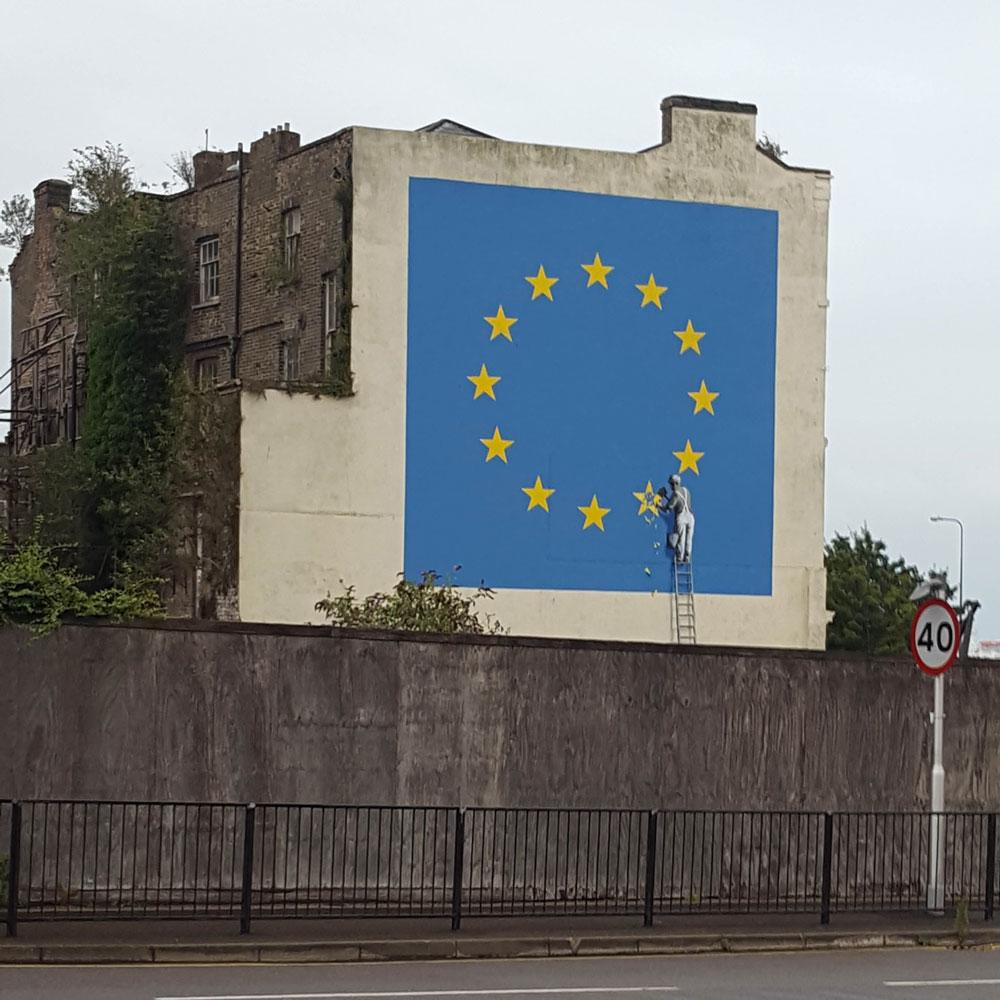 Banksy, Dover