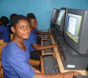 Children at local schools benefitting from donated equipment