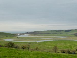 view of Cuckmere River Meanders