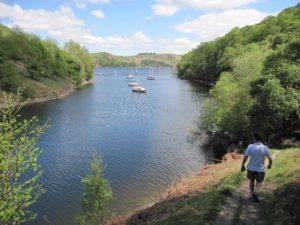 Clywedog reservoir - Glyndŵr's Way