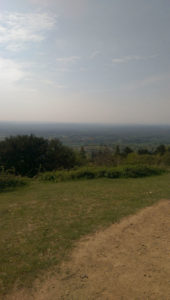 Leith Hill and Holmbury Hill near Dorking