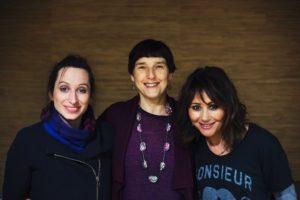 Isy Suttie, Diane Samuels, Frances Ruffelle
