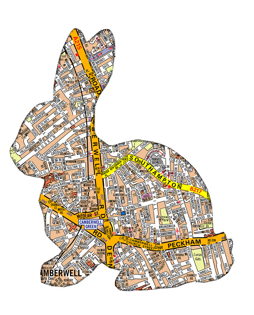 Easter Bunny (Map)