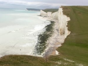 coastal path Seven Sisters
