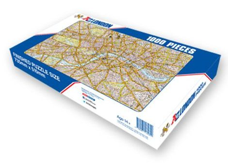 London A-Z map jigsaw puzzle National Jigsaw Day