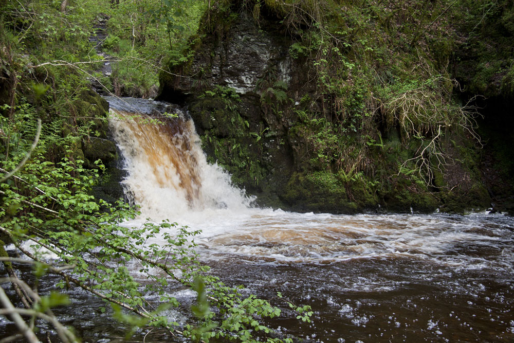 Henrhyd Falls, Brecon Beacons (South Wales)