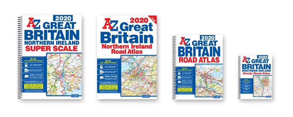 A-Z Road Atlases