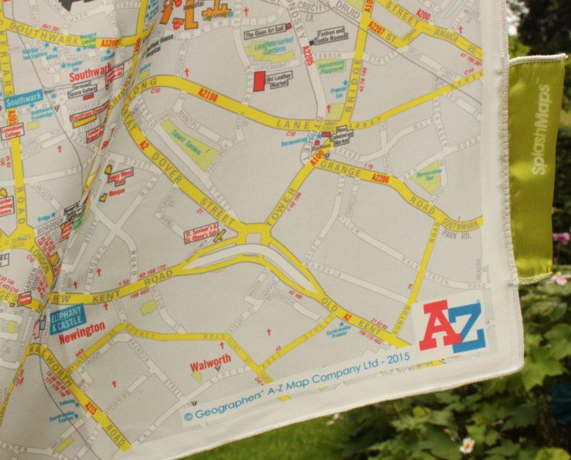London A-Z SplashMap