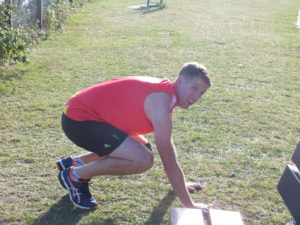 Warming up is essential to prevent injury