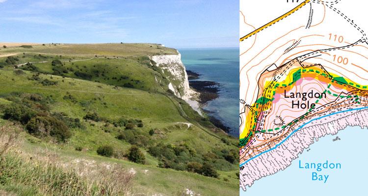 England Coast Path Map Reading Skills