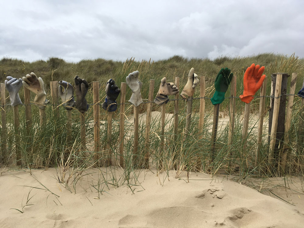 Romney Sands and the Glove Fence