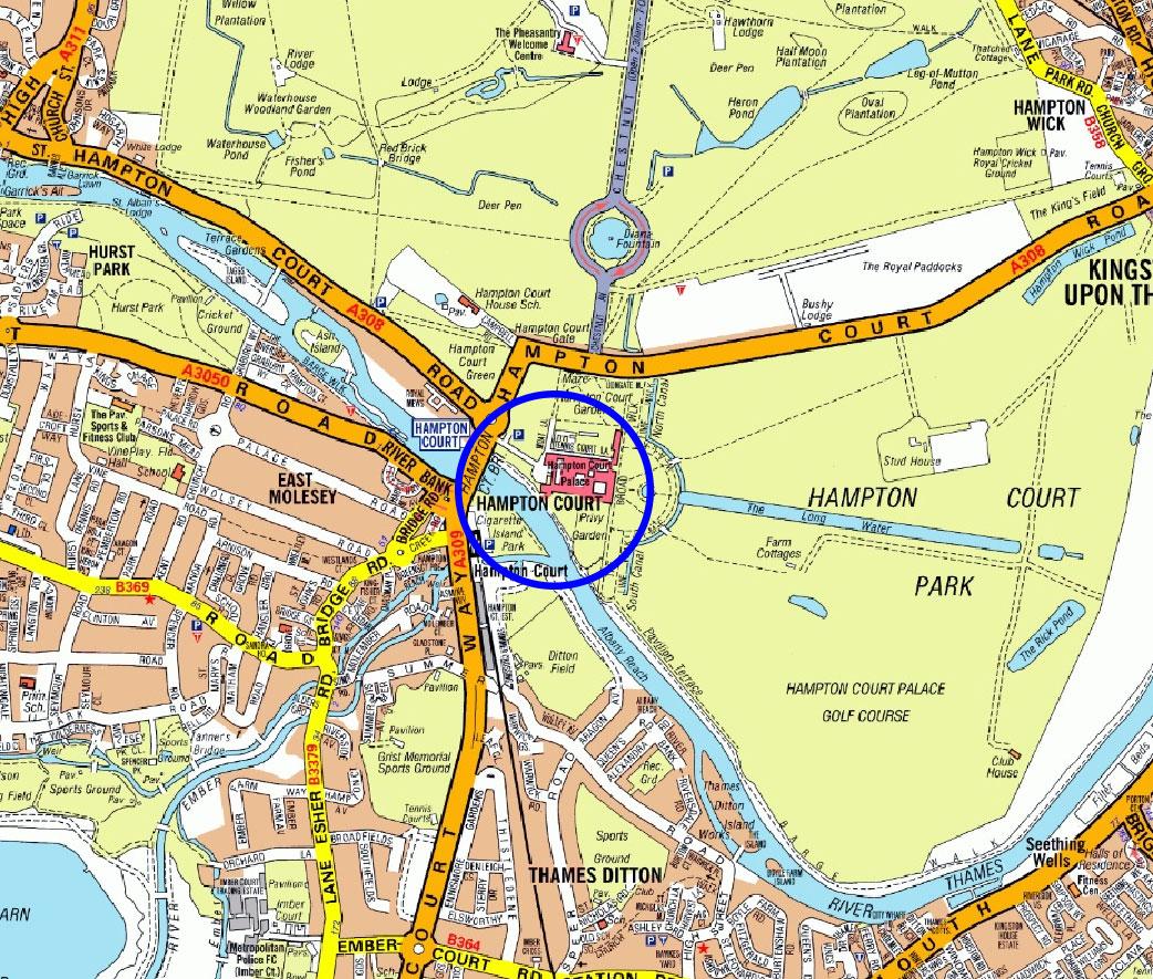 Hampton Court Location