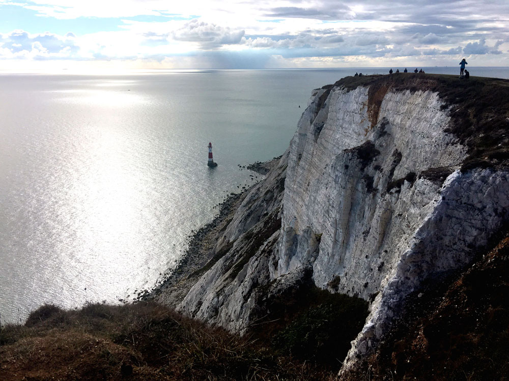 Views from Beachy Head, Eastbourne
