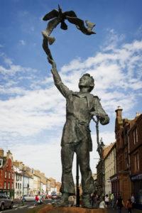 John Muir Statue Dunbar