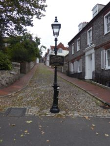 Keere street Lewes, near the South Downs Way