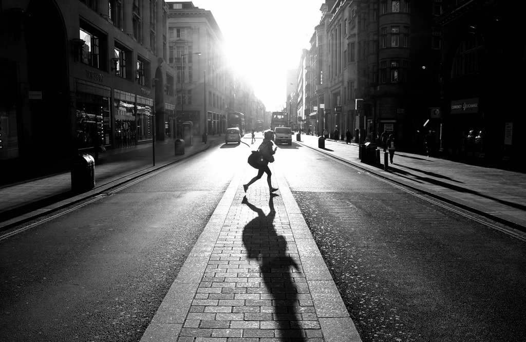 Oxford Street Sunrise (Explored #19) by Dom Crossley, 2013