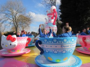 Tea Cup Ride at Drusillas