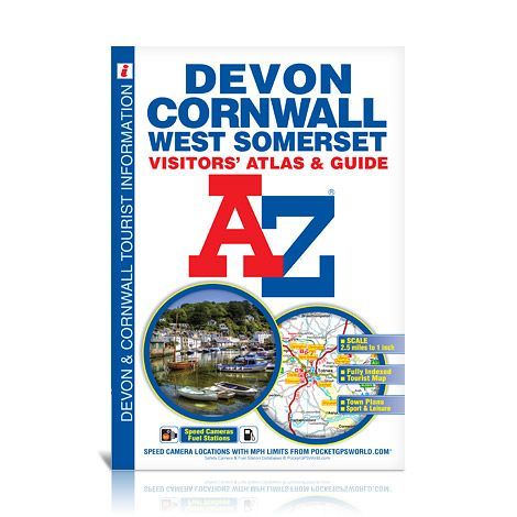 Devon, Cornwall & West Somerset A-Z Visitors' Atlas