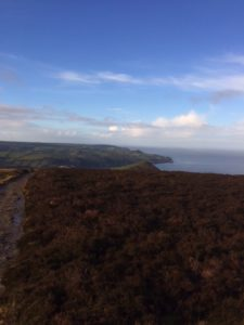 View from the top of Great Hangman