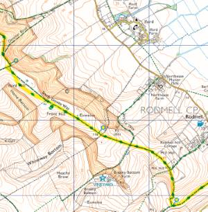 south downs way map