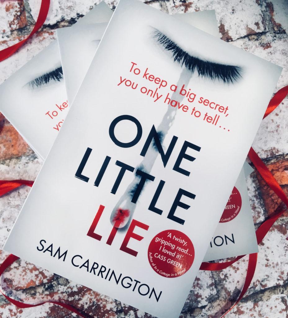 One Little Lie by Sam Carrington